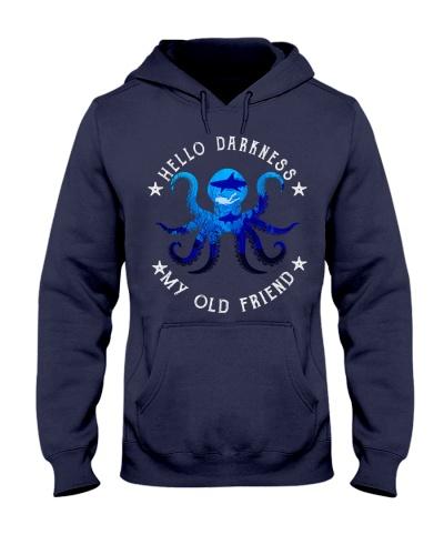 scuba diving octopus Hello darkness