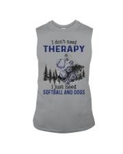 I Don't Need Therapy - Softball Sleeveless Tee thumbnail