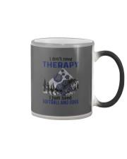 I Don't Need Therapy - Softball Color Changing Mug thumbnail