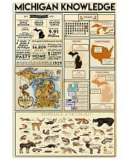 Michigan Knowledge 11x17 Poster front