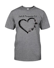 Just A Minnesota Girl Classic T-Shirt thumbnail