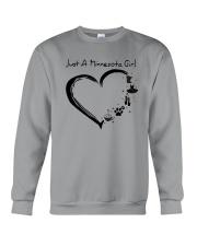 Just A Minnesota Girl Crewneck Sweatshirt thumbnail