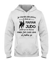 Maman Judo Hooded Sweatshirt front
