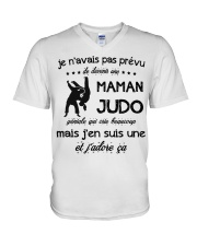 Maman Judo V-Neck T-Shirt thumbnail