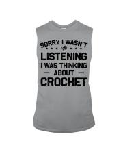 Crochet - Sorry I wasn't Sleeveless Tee thumbnail