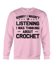 Crochet - Sorry I wasn't Crewneck Sweatshirt thumbnail