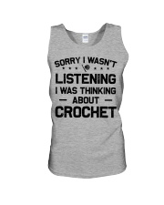 Crochet - Sorry I wasn't Unisex Tank thumbnail