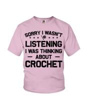 Crochet - Sorry I wasn't Youth T-Shirt thumbnail