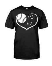 easily distracted by softball and dog  Classic T-Shirt thumbnail