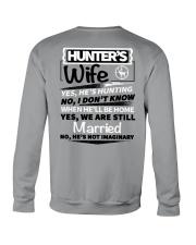 Hunting - hunter's wife Crewneck Sweatshirt thumbnail