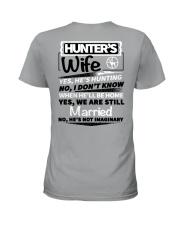 Hunting - hunter's wife Ladies T-Shirt thumbnail