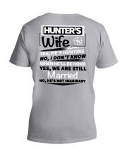 Hunting - hunter's wife V-Neck T-Shirt thumbnail