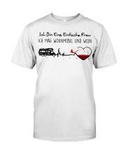 Wohnmobil Und Wein Classic T-Shirt front