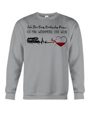 Wohnmobil Und Wein Crewneck Sweatshirt thumbnail