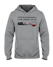 Wohnmobil Und Wein Hooded Sweatshirt thumbnail
