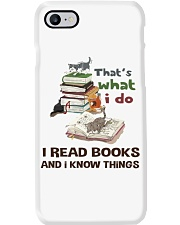 I Read Books And I Know Things Phone Case thumbnail