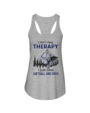 I Don't Need Therapy - Softball PT Ladies Flowy Tank thumbnail