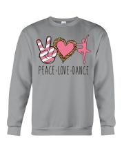 Peace Love Dance - Ballet Crewneck Sweatshirt thumbnail