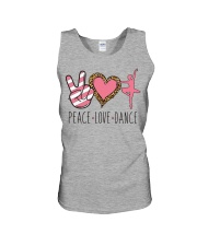 Peace Love Dance - Ballet Unisex Tank thumbnail