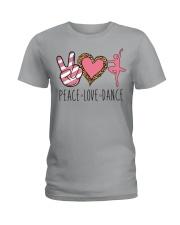 Peace Love Dance - Ballet Ladies T-Shirt thumbnail
