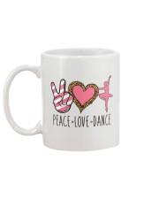 Peace Love Dance - Ballet Mug back