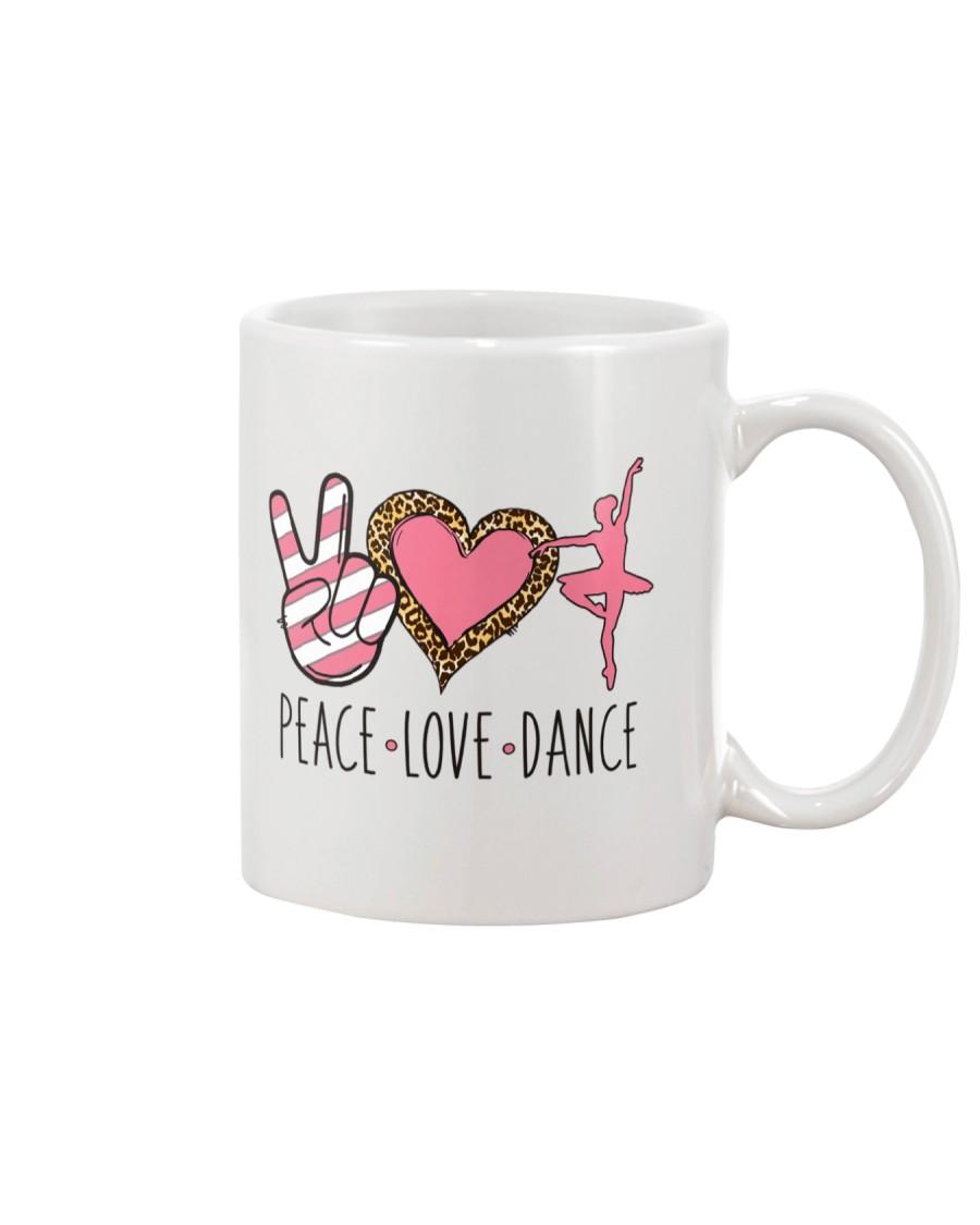 Peace Love Dance - Ballet Mug