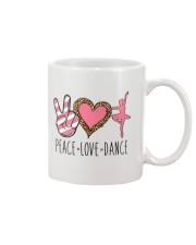 Peace Love Dance - Ballet Mug front