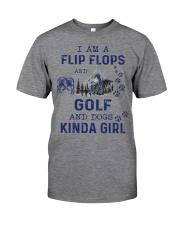 I Am A Flip Flops Kinda Girl - Golf Classic T-Shirt thumbnail