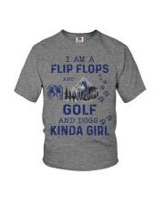 I Am A Flip Flops Kinda Girl - Golf Youth T-Shirt thumbnail
