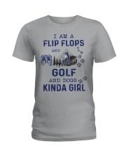 I Am A Flip Flops Kinda Girl - Golf Ladies T-Shirt thumbnail