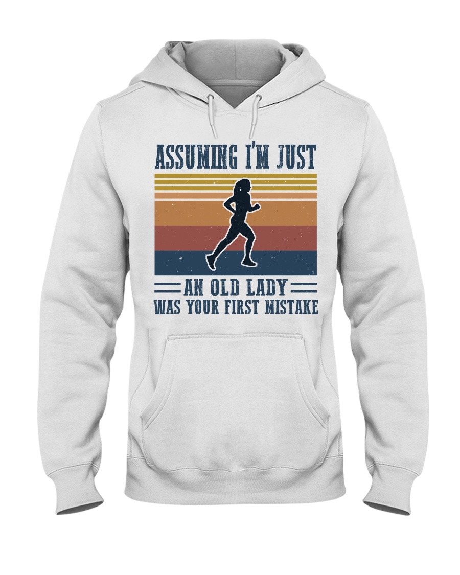 Assuming I'm Just An Old Lady - Jogging Hooded Sweatshirt