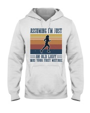 Assuming I'm Just An Old Lady - Jogging Hooded Sweatshirt front