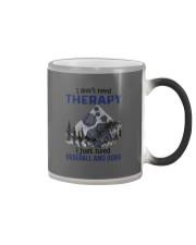 I Don't Need Therapy - Baseball Color Changing Mug thumbnail
