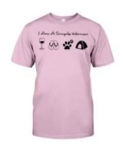 SIMPLE WOMAN tent ha Classic T-Shirt thumbnail