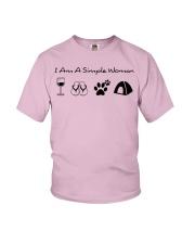 SIMPLE WOMAN tent ha Youth T-Shirt thumbnail