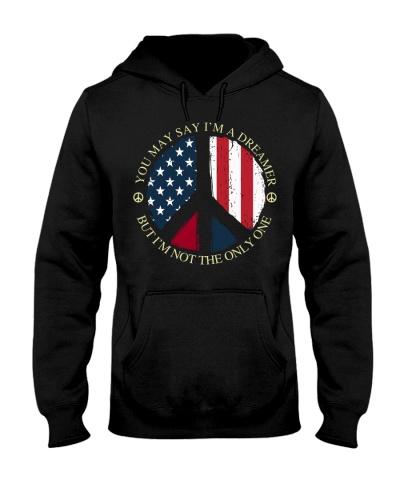 hippie peace USA flag dreamer 9997 0005