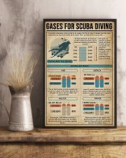 GASES FOR SCUBA DIVING 9993 0012 11x17 Poster lifestyle-poster-3