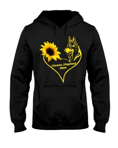 German Shepherd  mom sunflower 9997 0005