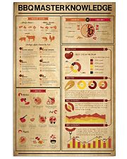 Bbq master knowledge  11x17 Poster front