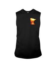 Minnesota USA Flag lakesun VK campfire 3PT Sleeveless Tee thumbnail