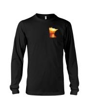 Minnesota USA Flag lakesun VK campfire 3PT Long Sleeve Tee thumbnail
