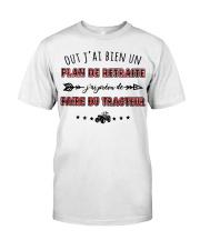 Plan De Retraite - Tracteur Classic T-Shirt thumbnail