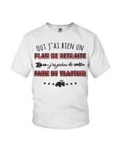 Plan De Retraite - Tracteur Youth T-Shirt thumbnail