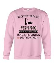 fishing-weekend forecast-cooking Crewneck Sweatshirt thumbnail