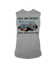 Dogs And Archery - Make Me happy Sleeveless Tee thumbnail