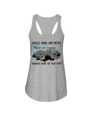 Dogs And Archery - Make Me happy Ladies Flowy Tank thumbnail