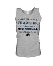 Un Mec Normal - Tracteur GR Unisex Tank thumbnail