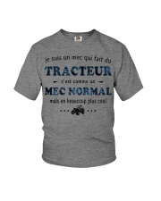 Un Mec Normal - Tracteur GR Youth T-Shirt thumbnail