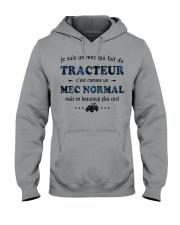 Un Mec Normal - Tracteur GR Hooded Sweatshirt front