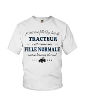 Fille Normale - TRACTEUR Youth T-Shirt thumbnail